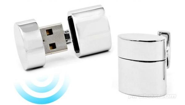 Беспроводные запонки WiFi Cufflinks