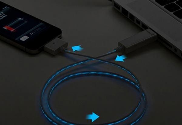 USB-кабель с подсветкой от Dexim