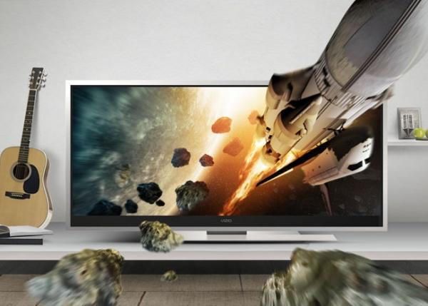 Vizio готовит к выпуску HDTV CinemaWide диагональю 58'' с соотношением сторон 21:9