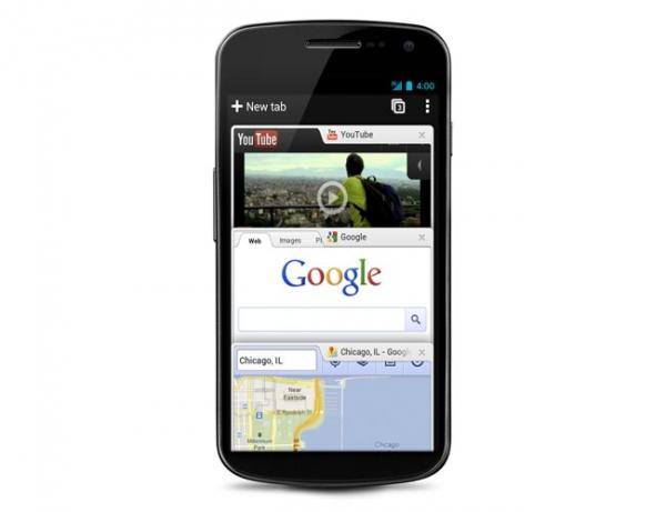 Google выпускает бета-версию Chrome для Android