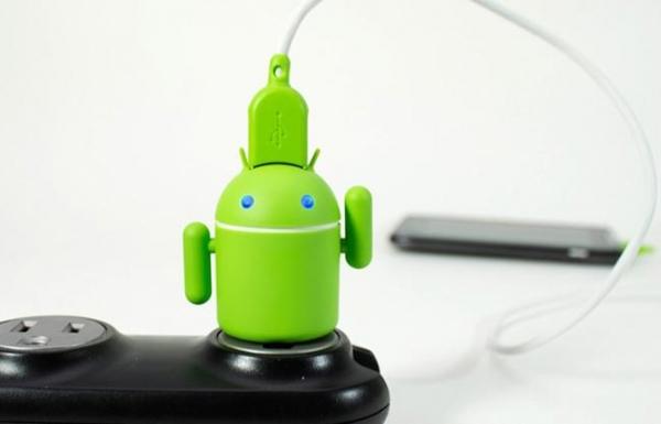 Andru – миниатюрное зарядное устройство для фанатов Android