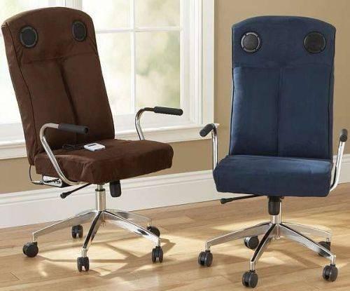 iSwivel Desk Chair – кресла со встроенными колонками