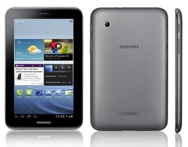 Анонс планшета Samsung Galaxy Tab 2