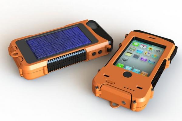 Aqua Tek S – прочный корпус для iPhone с солнечной батареей