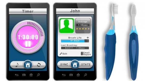Beam Brush – зубная щетка с Bluetooth