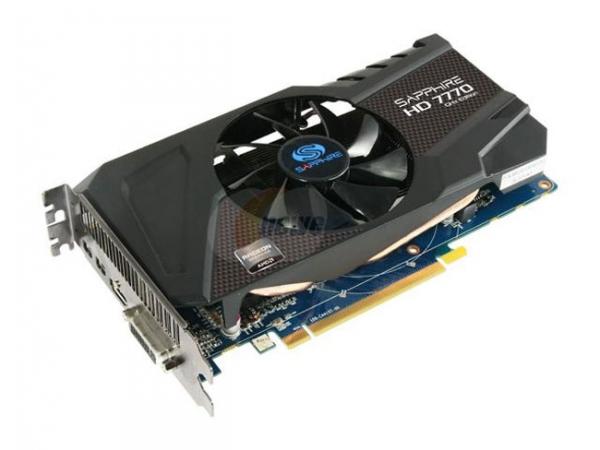AMD выпускает гигагерцевую видеокарту Radeon HD 7770 GHz Edition