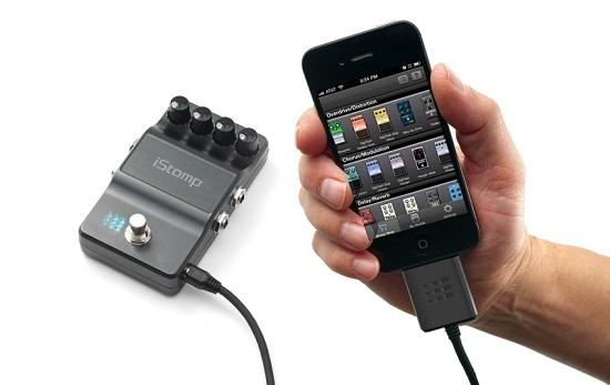 iStomp Stompbox превратит iPhone в процессор гитарных эффектов