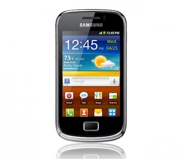 Samsung анонсирует Galaxy mini 2