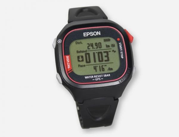 Самые легкие GPS-часы от Epson