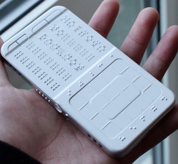 DrawBraille – смартфон для слабовидящих