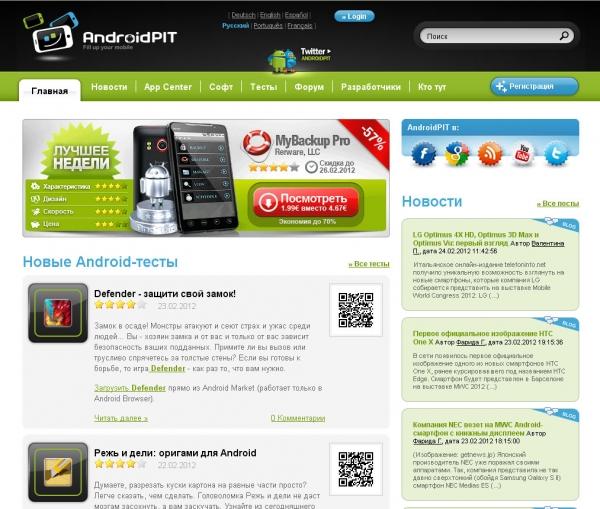Что такое AndroidPIT?
