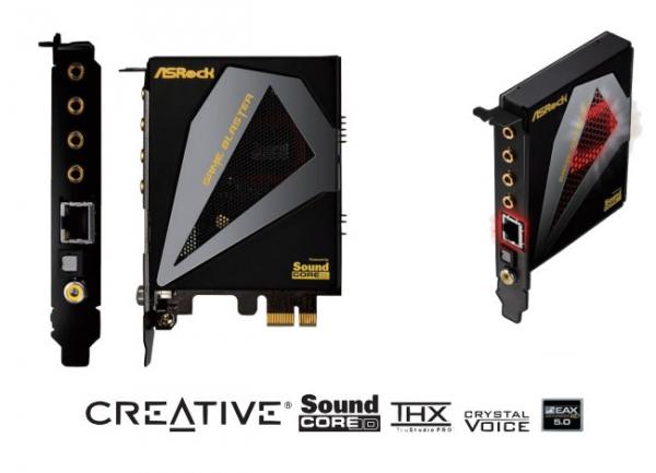 Creative и ASRock создают «игровую» карту Game Blaster
