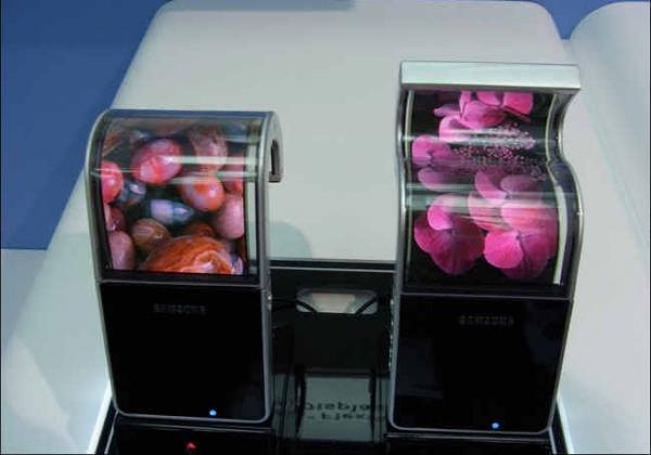 Гибкие OLED-дисплеи от Samsung готовы к массовому производству