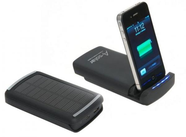 A-Solar iOS Power Dock – док-станция с солнечной батареей для iOS-девайсов