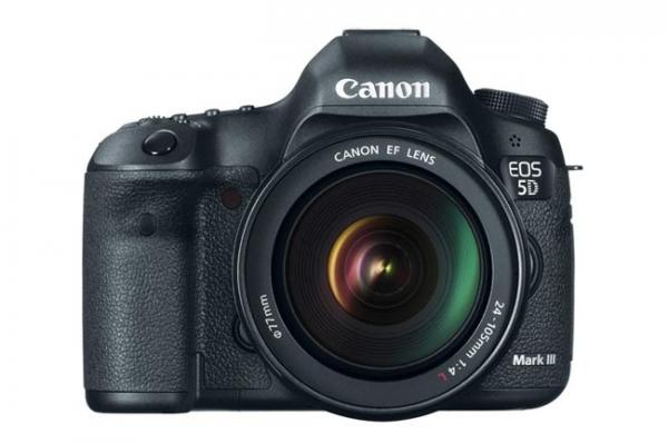 Официальный анонс Canon 5D Mark III
