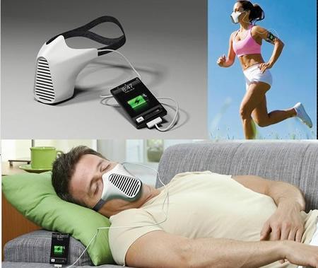AIRE – маска для зарядки гаджетов