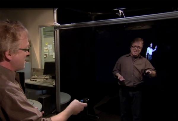 Дополненная реальность: Microsoft демонстрирует Holoreflector
