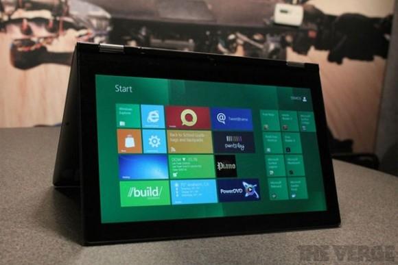 Lenovo станет первым производителем, выпустившим планшет под Windows 8
