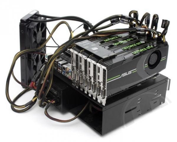 NVIDIA GTX 680 протестирована в режиме SLI, показала отставание от Radeon 7970
