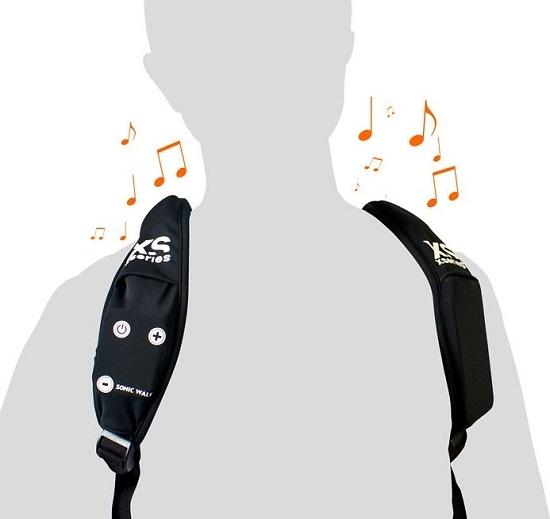Музыкальный рюкзак Sonicwalk