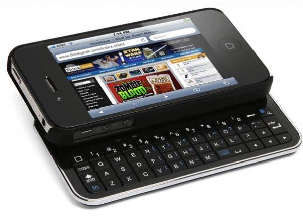 Клавиатура-слайдер для iPhone