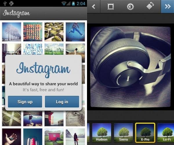 Instagram для Android менее чем за 24 часа достиг отметки в 1 миллион скачиваний