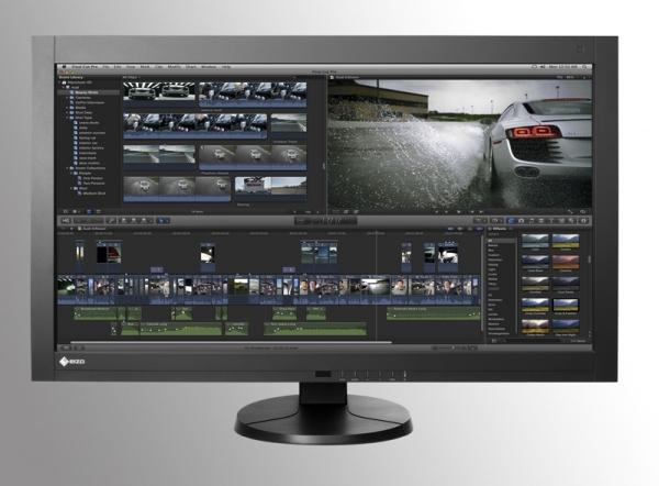 Eizo покажет свой 36'' монитор с разрешением 4 096 х 2 160 пикселей на NAB 2012
