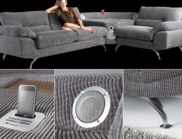 Музыкальный диван Sound Sofa