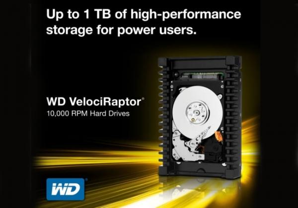 Western Digital запускает в продажу терабайтного «Раптора»
