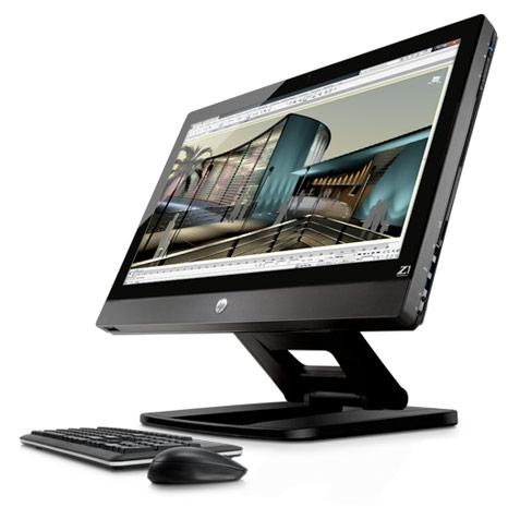 Старт официальных поставок моноблока HP Z1