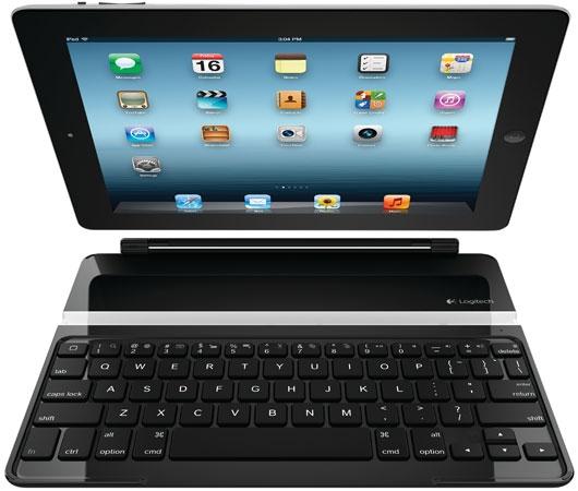 Logitech представляет ультратонкую клавиатуру-кожух для «третьего» iPad'а