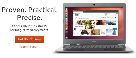 Ubuntu 12.04 LTS доступна для скачивания