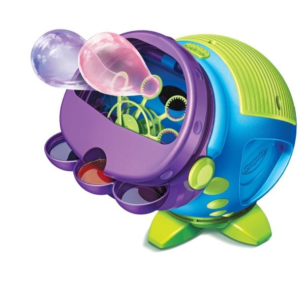 Машина для цветных мыльных пузырей от Crayola