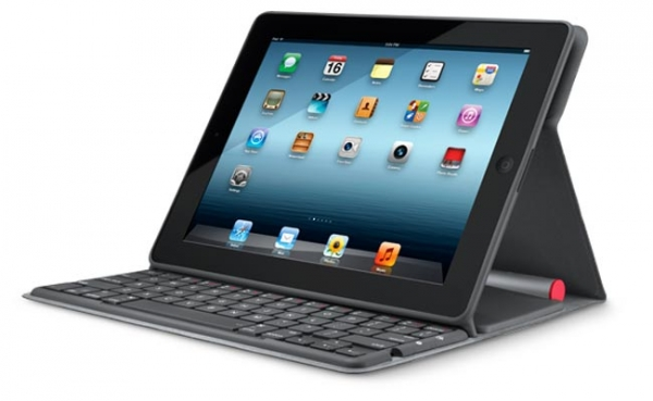 Чехол с клавиатурой для iPad Logitech Solar Keyboard Folio