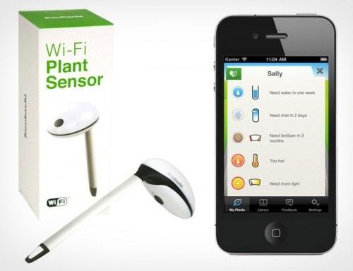 Беспроводной сенсор для садоводов Koubachi WiFi Plant Sensor