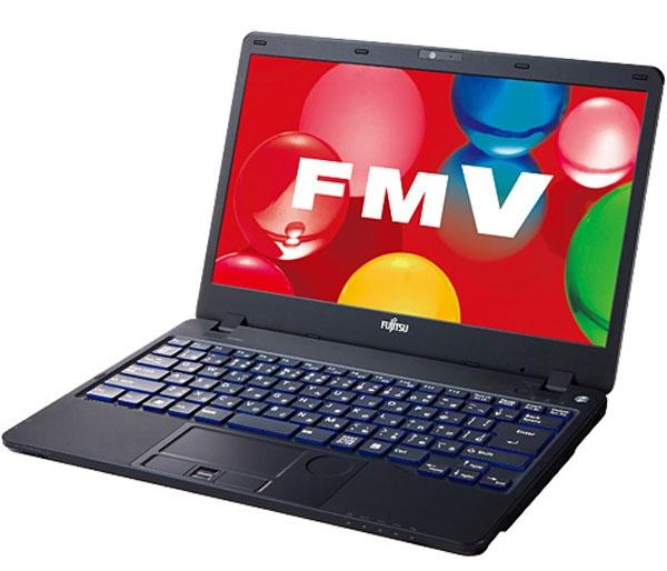 Самые тонкие ноутбуки с оптическим приводом Fujitsu Lifebook SH