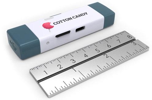Компьютер-донгл FXI Cotton Candy выходит в продажу