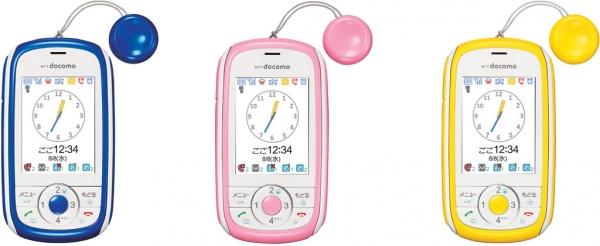 Huawei HW-01D – телефон для детей