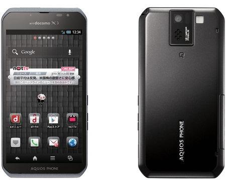 Sharp Aquos SH-10D – телефон для развлечений