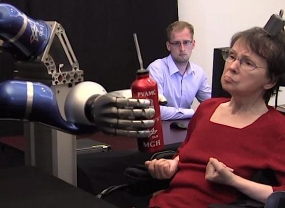 BrainGate 2: следующая ступень в управлении роботами силой мысли