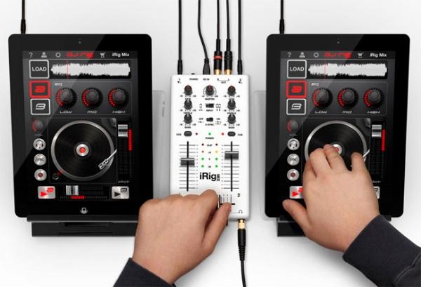 IK Multimedia iRig Mix – диджейский микшер для iOS-устройств