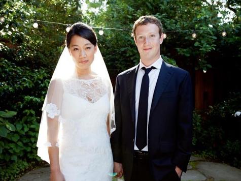 Марк Цукерберг женился сразу после IPO Facebookа