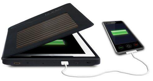 KudoCase – чехол для iPad с солнечной батареей