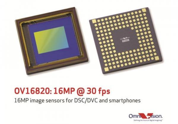 16-мегапиксельный сенсор для смартфонов от OmniVision