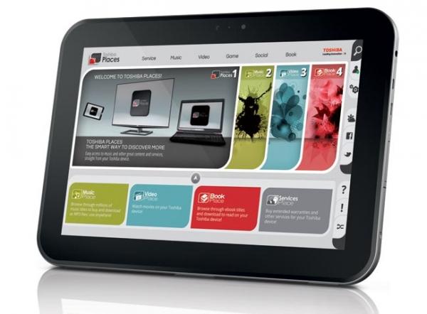 Toshiba AT300 – 10-дюймовый планшет с Android 4.0