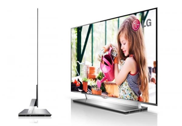LG показала дизайн своего 55'' OLED-телевизора