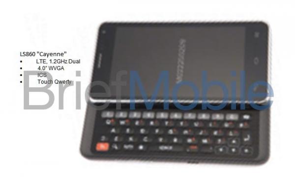 QWERTY-смартфон LG LS860 Cayenne