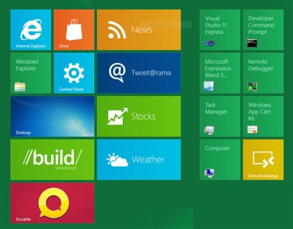 В сеть утекла китайская предварительная версия Windows 8 Release Preview