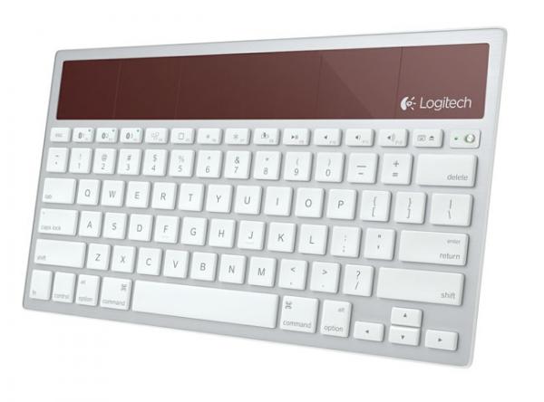 «Солнечная» клавиатура для Mac и iOS Logitech K760