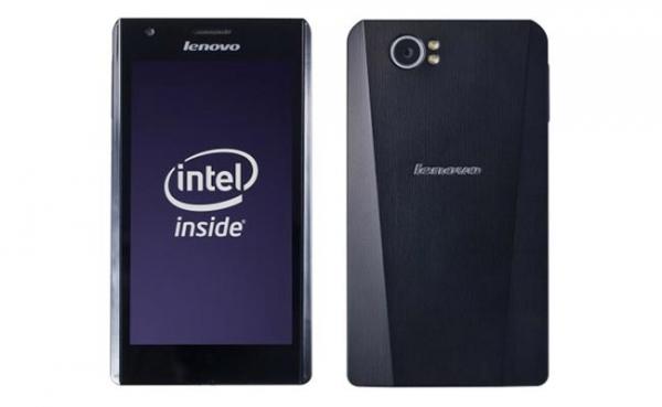 Lenovo LePhone K800 – смартфон на базе Intel